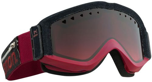 (Anon Figment Snow Goggles - Torn/Red)