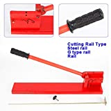 Manual Guide Din Rail Cutter Rail Steel rail G Type Rail Cut Double Groove Multi-use Guide Cutting Tools For Steel