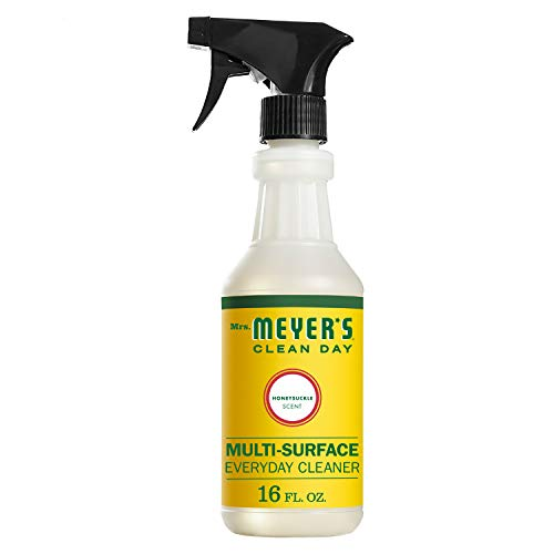 Honeysuckle Vitamins - Mrs. Meyer's Multi-Surface Everyday Cleaner, 16 Fluid Ounce, (Honeysuckle, PACK - 1)