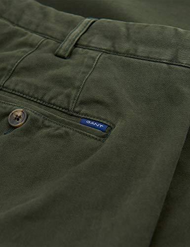 Slim Moss Gant Chinos Green Super 319 Comfort 1503956 OqFwdPq