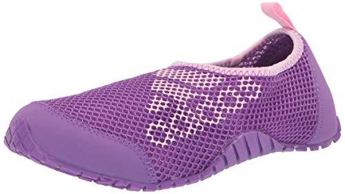 adidas outdoor KUROBE Kids Water Sports Shoe Walking Active Purple/True Pink, 3 Child US Big (Sport Shoes For Children)