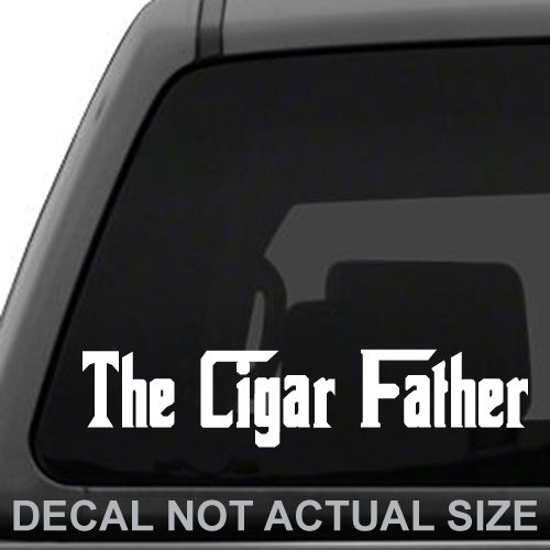 (The Cigar Father Vinyl Decal Sticker for Car Truck Laptop)