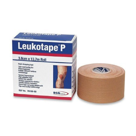 Leukotape P Combo Pack (Leukotape P Sportstape & Cover-Roll Stretch Non-Woven Bandage) ((2 of 1.5 in x 15 yard Sportstape & 2 of 2 in x 10 yard Bandage)) by BSN Medical B00OEQ47WS