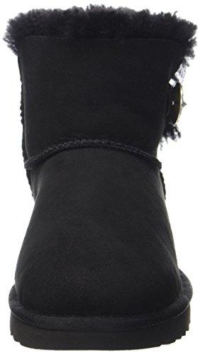 Black Noir UGG Australia Souples Mini Bailey Button Bottes Bling Femme Nero ACnpwqAR
