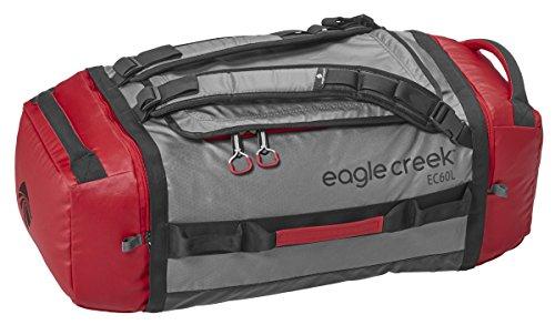 eagle creek EAC 20584 173 Cargo Hauler Duffel 60 L M RD/GY Borsone, Sintetico, Rosso, 67 cm