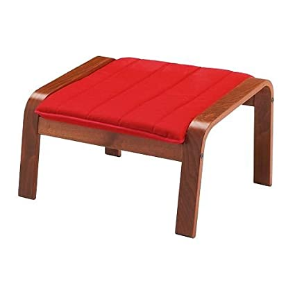 Peachy Amazon Com Ikea Ottoman Medium Brown Ransta Red Evergreenethics Interior Chair Design Evergreenethicsorg