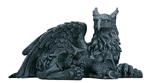 - Griffin With Babies - Collectible Figurine Statue Sculpture Figure