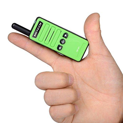 NKTECH Super Mini NK-M1 UHF 400-470MHz 16 Channels Handheld Ham Transceiver  Two way Radio Walkie Talkie 1200mAh 3 7V Li-ion Batteries Accessories