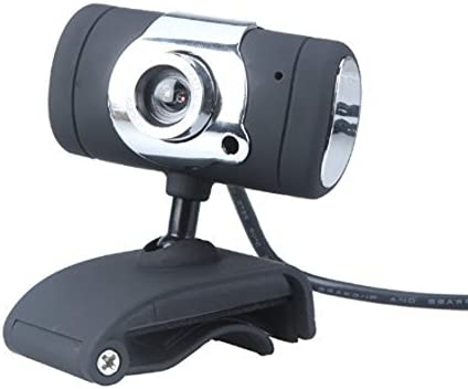 Webcam - TOOGOO(R)USB 2.0 50.0m HD Webcam camara webcam con microfono MIC para PC y ordenador portatil Negro: Amazon.es: Electrónica