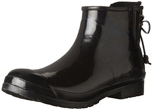 SPERRY Women's Walker Turf Rain Boot, Black, 7