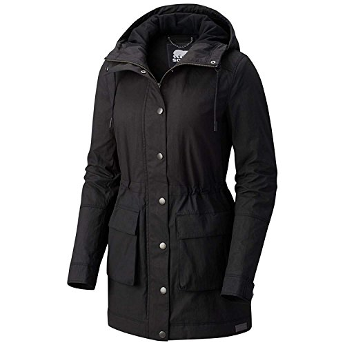 Sorel Joan Of Arctic Hooded Lite Insulated Jacket - Women's sz Small Black