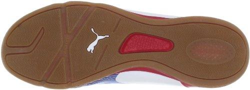 Puma - Botas evoSPEED para hombre, tamaño 46 UK, color naranja White-Limoges- (White-Limoges-)