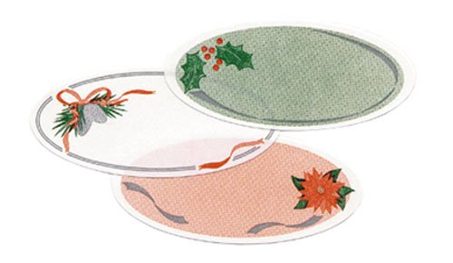Holiday Oval Assortment Labels, Pack of 54
