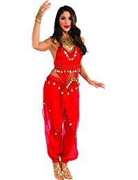 Costume Deluxe Embellished Belly Dancer Costume