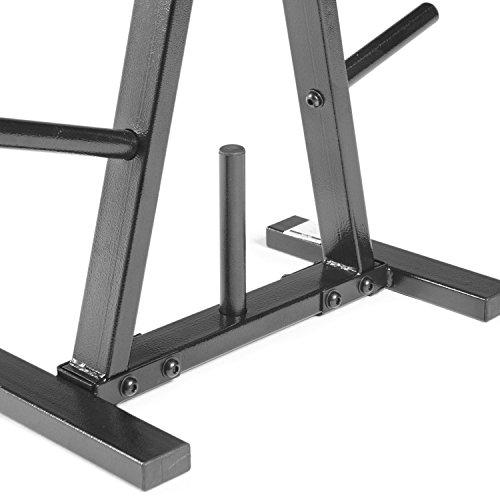 CAP Barbell Plate Rack, 1 Inch, Black