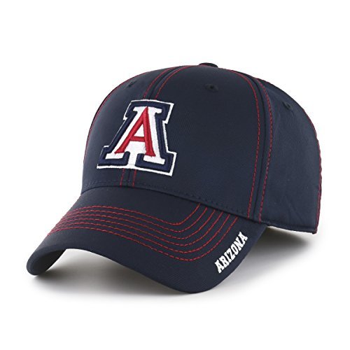 (NCAA Arizona Wildcats Adult Start Line Ots Center Stretch Fit Hat, Large/X-Large,)
