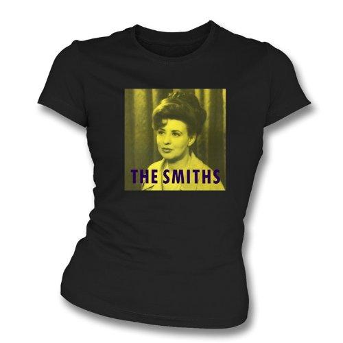 TshirtGrill Das des Schmiede Shakespeares dünne T-Shirt der Sitz des Schwester-Mädchens, Farbe- Schwarzes