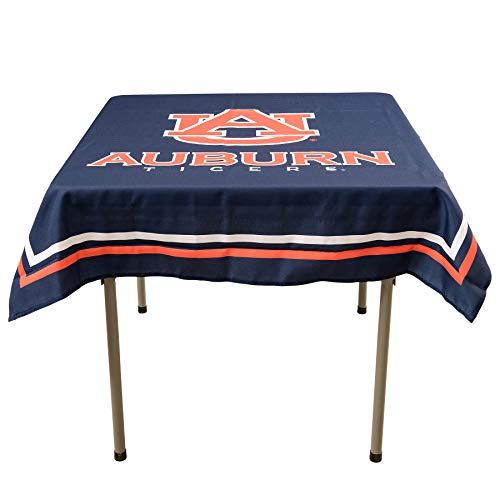 College Flags and Banners Co. Auburn Tigers Logo Tablecloth or Table Overlay