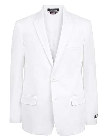 b15f06281 Amazon.com: Tommy Hilfiger Boys' Twill Blazer Jacket: Clothing