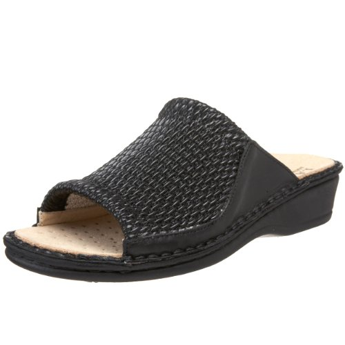 clearance collections La Plume Women's Stretch Slide Black low shipping for sale zBMxFhNT7
