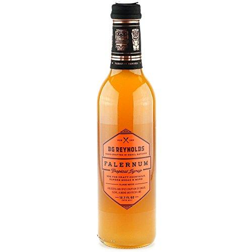 BG Reynolds Falernum Syrup (375ml, 1 Bottle)