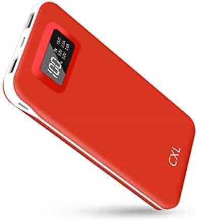 db5bceb9b71637 Portable Charger Power Bank High Capacity 24000mAh USB C Battery Pack Phone  Charger Dual Output 2