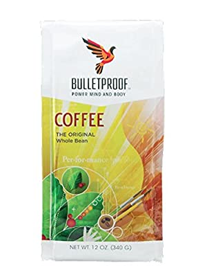 Bulletproof Coffee,Whole Bean 12 Oz (Pack Of 6) by Bulletproof