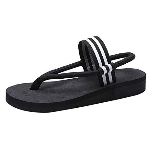Respctful✿Flip Flops Sandals for Women Slip-On Flip Flops Flat Summer Casual Basic Sandals Thongs Toe