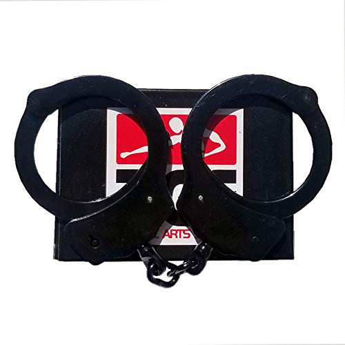 Ace-Martial-Arts-Supply-Professional-Heavy-Duty-Police-Style-Handcuffs-Double-Lock-with-2-Keys