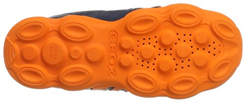 Geox J Munfrey B, Zapatillas para Niños Azul (Navy/orange)