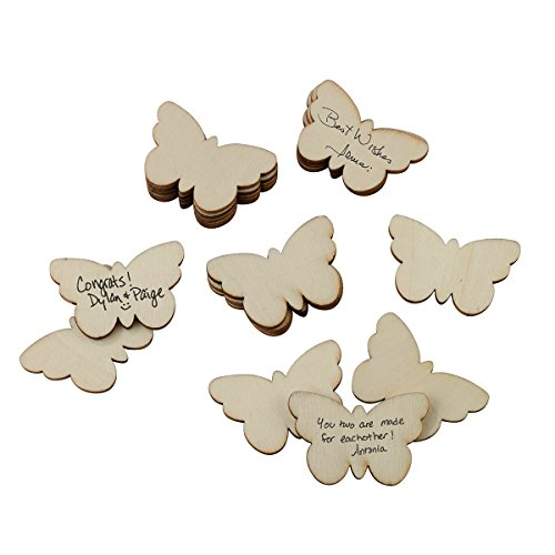Lillian Rose GA562 Guest Signing Butterflies (Set Of 49), -