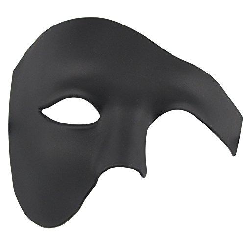 Phantom of The Opera Mask Venetian Masquerade Mask Vintage Half Face Masquerade Mask ()