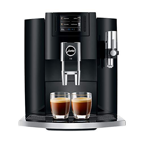Jura E8 Automatic Coffee Machine 15270, Piano Black