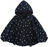 Mud Kingdom Cute Baby Boys Girls Fleece Hooded Jacket Reversible