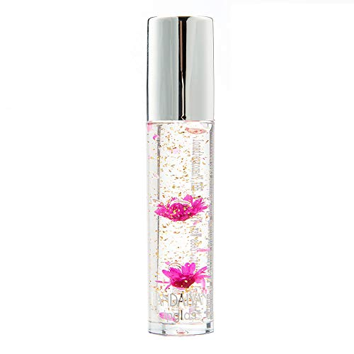 Mimfor Beauty Bright Flower Crystal Jelly Lipstick Magic Temperature Change Color Lip B(B,)