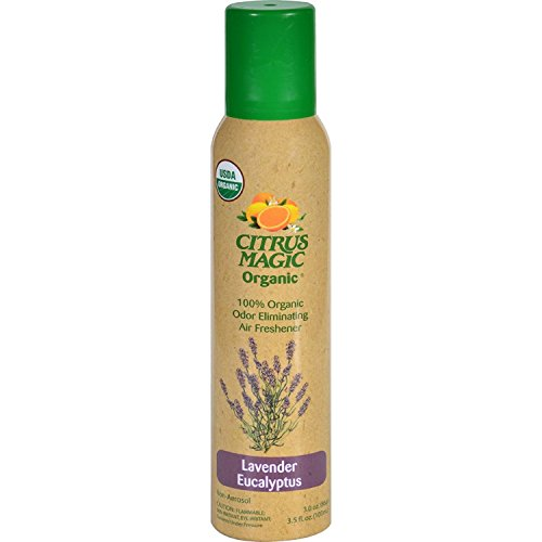 (Citrus Magic Air Freshener Lavender Eucalyptus Organic, 3.5)