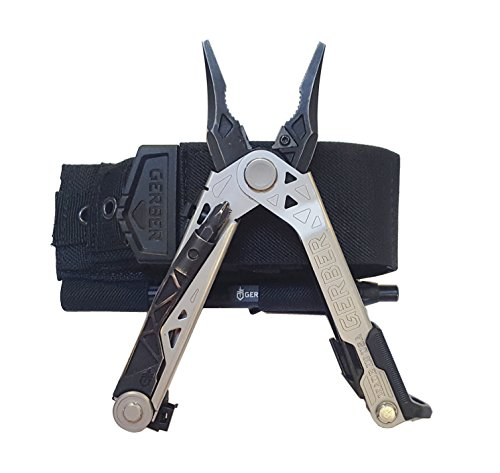 Gerber Center-Drive Multi-Tool with Bit Set, Pen Custom Fit Dual Sheath Bundle