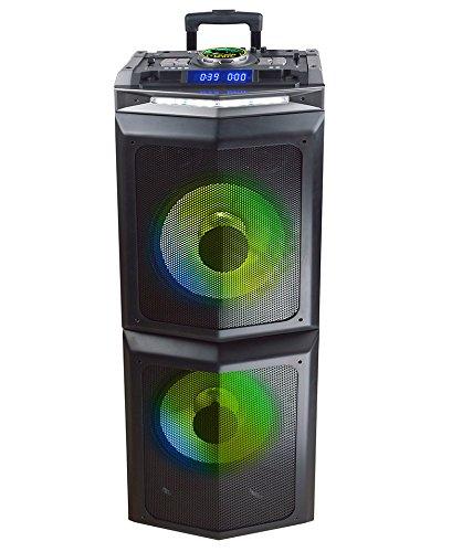 Sytech SYXTR85DJ Seismic DJ - Sistema acústico Profesional portátil inalámbrico de 1500 W, Negro: Amazon.es: Electrónica