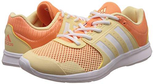 White Yellow ftwr Adidas Indoor Orange W Donna Ii easy Giallo Scarpe Sportive Fun Essential easy 7Pq7vArf