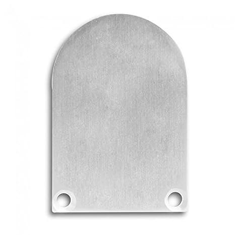 pn6 LED Aluminio Perfil Incluye tapas C1/2/3/4 para tira LED