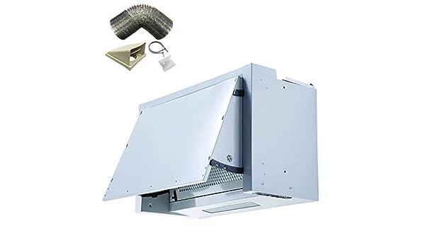 SIA – Campana extractora integrada para cocina INT60SI de 60 cm y equipo de conducto de 1 m: Amazon.es: Grandes electrodomésticos