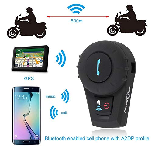 BT interphone Bluetooth Motorbike Motorcycle Helmet intercom Headset 500M