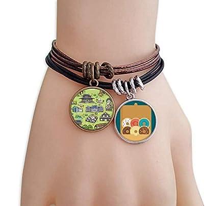 SeeParts Famous Tourist Attractions South Korea Bracelet Rope Doughnut Wristband Estimated Price £9.99 -