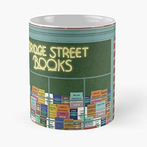 Bridge Street Books Bookstore Washington Dc - Funny Gifts For Men And Women Gift Coffee Mug Tea Cup White 11 Oz.the Best Holidays.