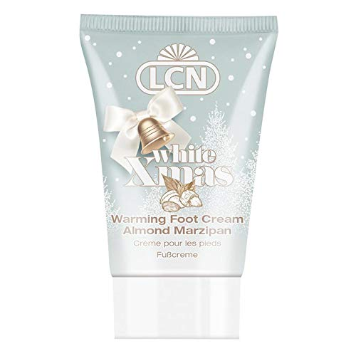 LCN White Xmas Foot Cream Almond Marzipan 30 ml Limitierte Edition