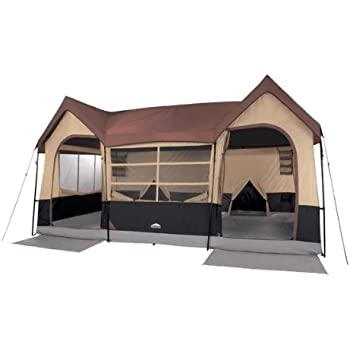 Northwest Territory Big Sky Lodge Tent - Large 10 Person Family Tent with Closets and Rooms  sc 1 st  Amazon.com : big cheap tents - memphite.com