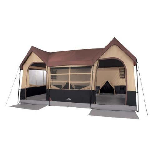 Northwest Territory Big Sky Lodge Tent - Large 10 Person Family Tent with Closets and Rooms  sc 1 st  Outdoor Authority & Top Luxury Camping Tent 2018 | Buying Guide and Our Top Picks