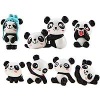 LHKJ 8 Pieces Figuras de Panda, Kit