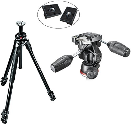 Manfrotto MK290XTA3-3WUS 290 Xtra Aluminum Tripod with 804 - Manfrotto Tripod With Pan Head