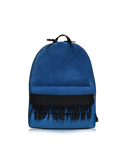 3.1 PHILLIP LIM WOMEN'S AP16A046SMU BLUE LEATHER BACKPACK